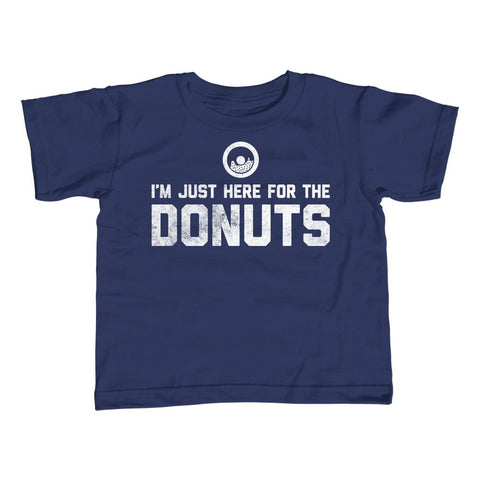Boy's I'm Just Here For The Donuts T-Shirt