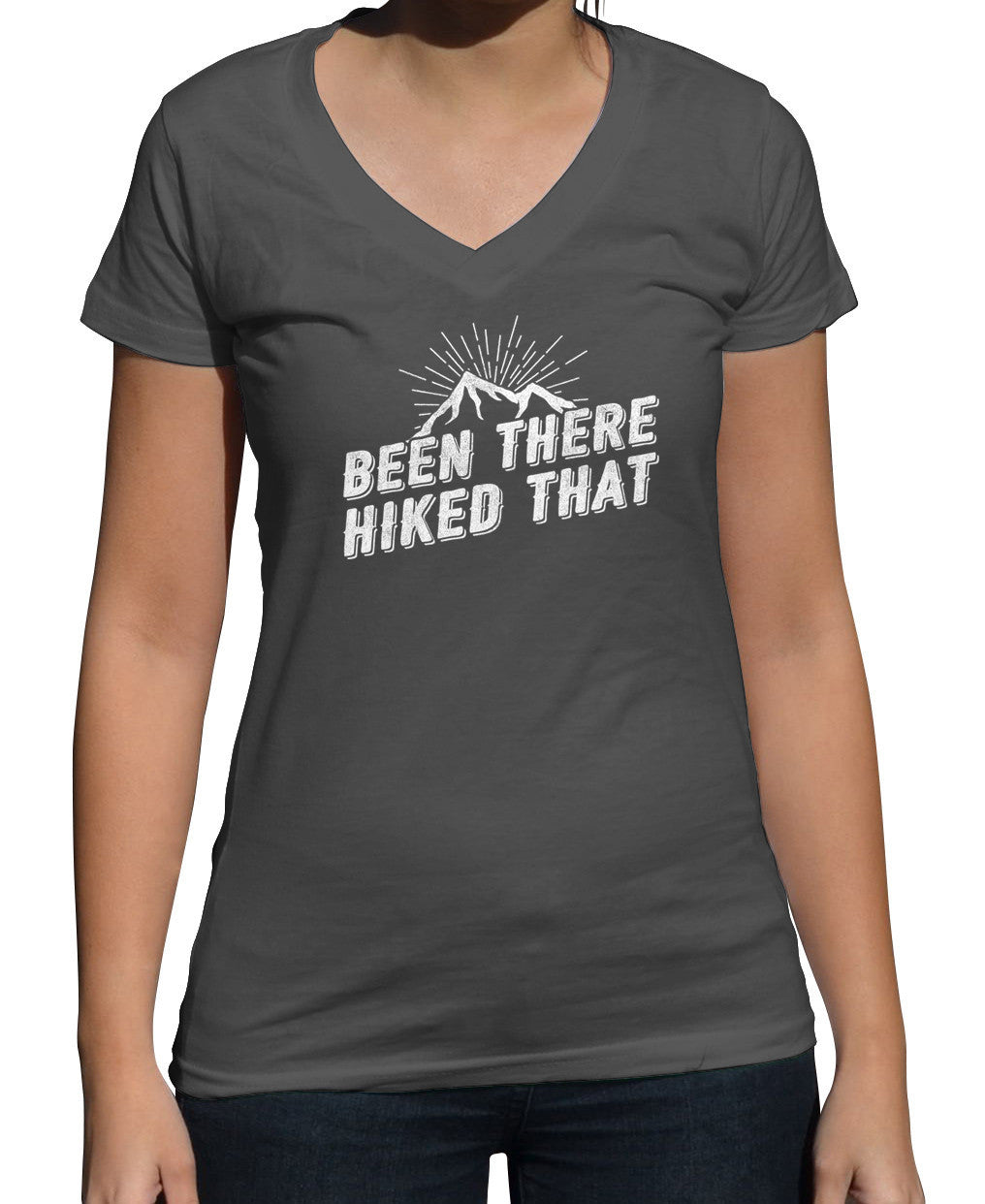 Women's Been There Hiked That Vneck T-Shirt