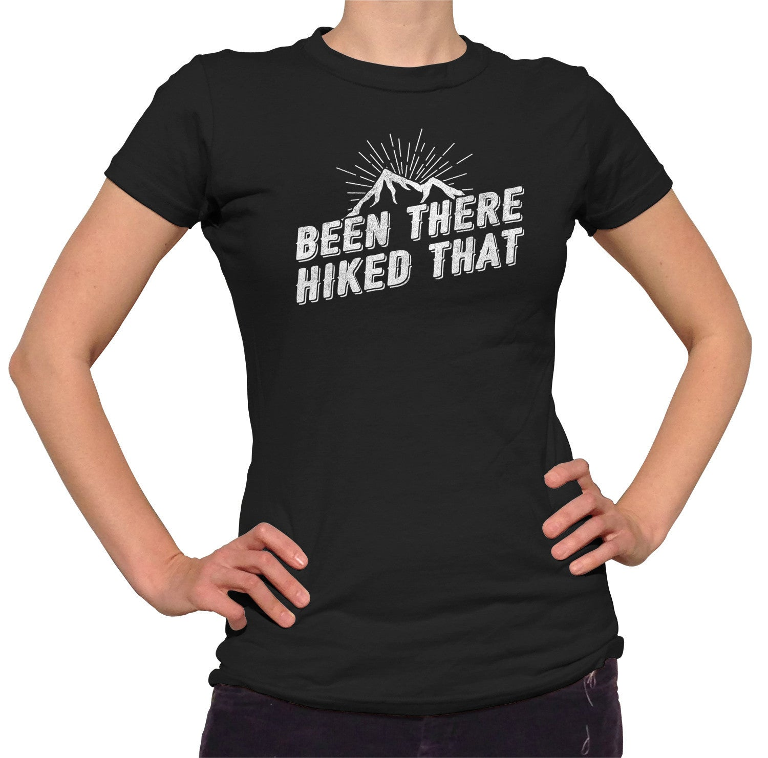 Women's Been There Hiked That T-Shirt