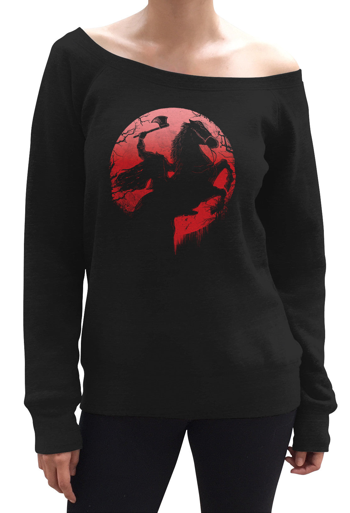 Women's Headless Horseman Scoop Neck Fleece