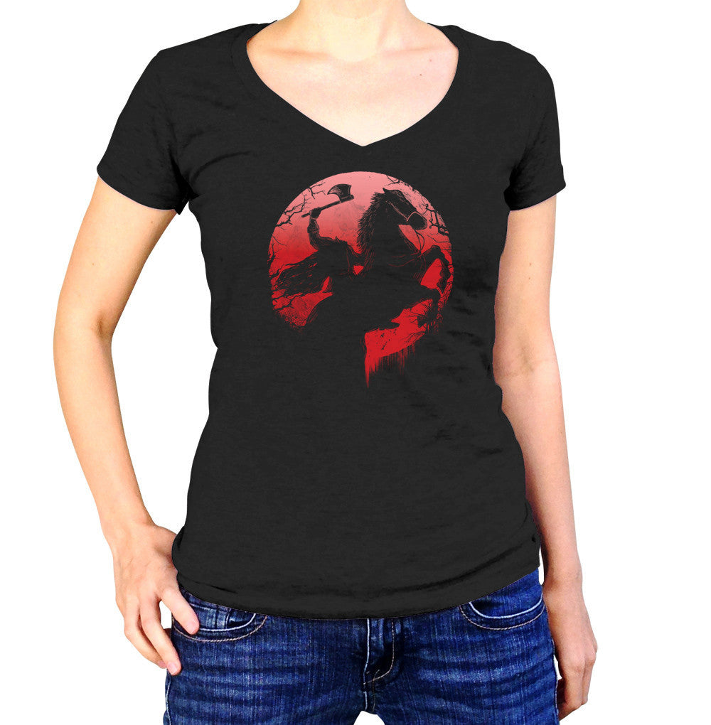 Women's Headless Horseman Vneck T-Shirt
