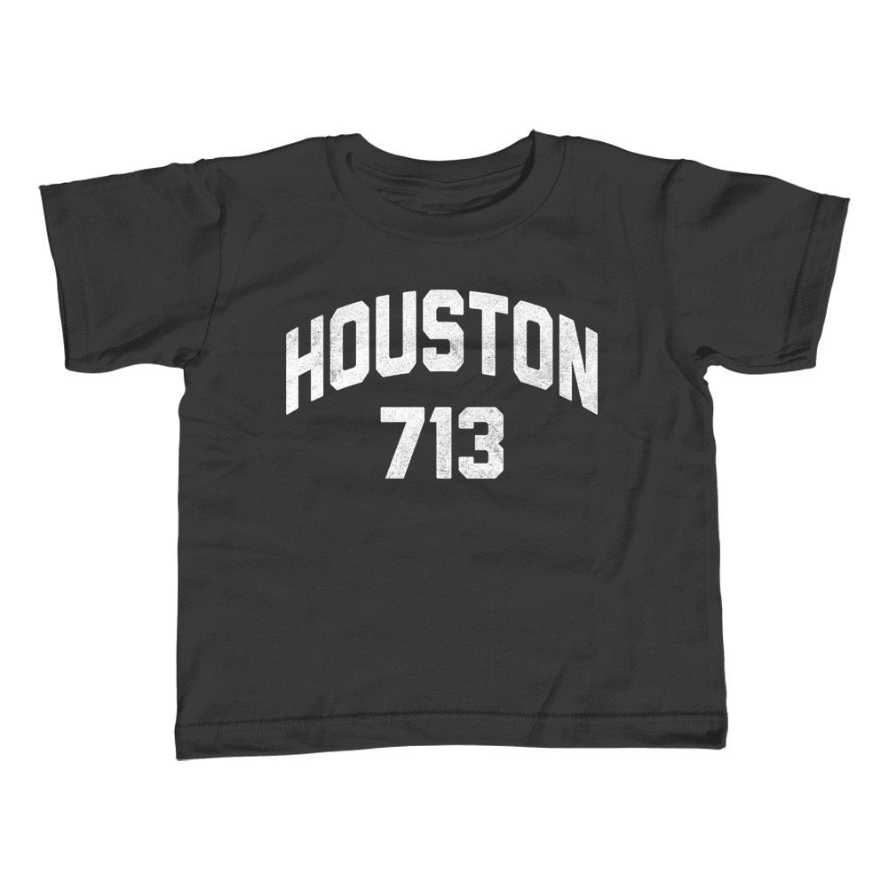 Boy's Houston 713 Area Code T-Shirt