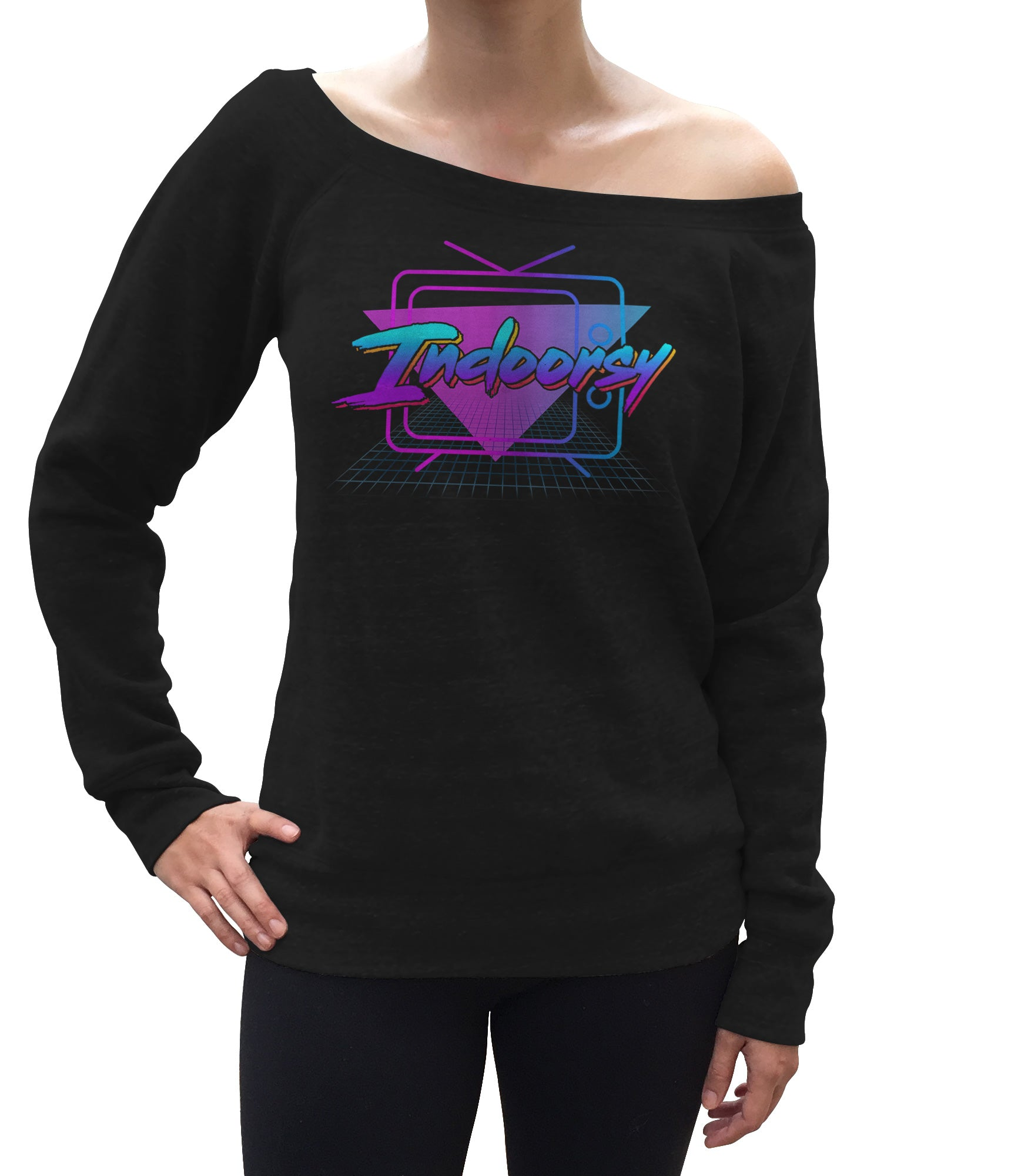 Women's Indoorsy Scoop Neck Fleece