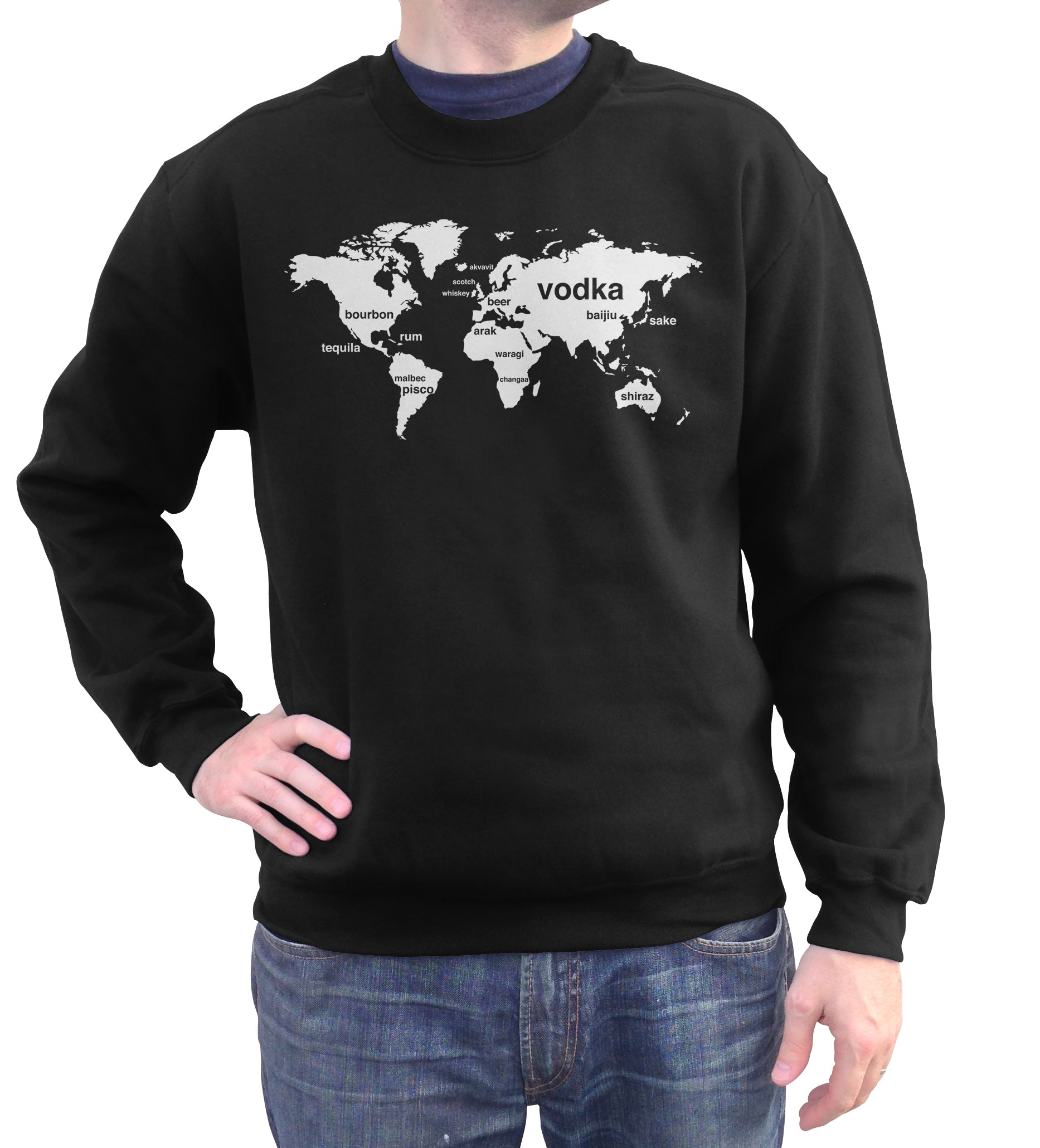 Unisex International Boozing Sweatshirt - By Ex-Boyfriend
