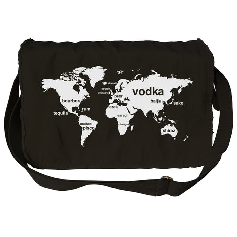 International Boozing Messenger Bag - By Ex-Boyfriend