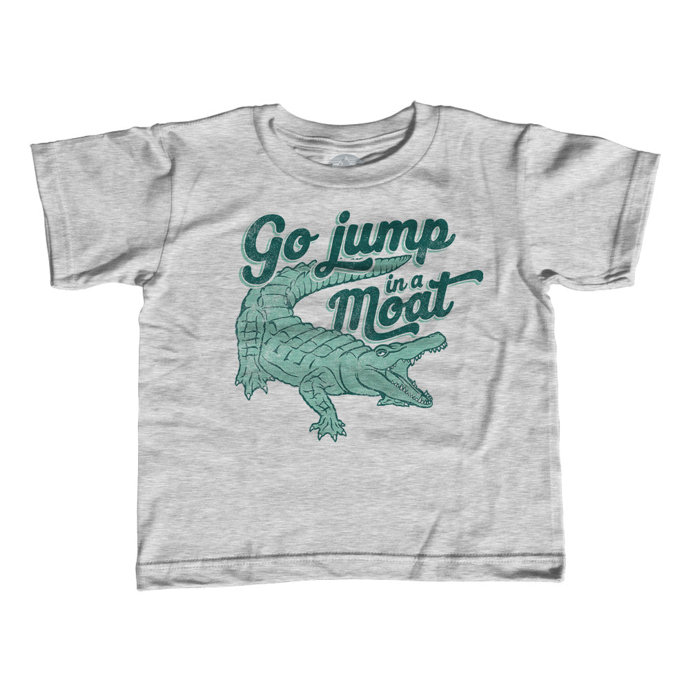 Girl's Go Jump in a Moat Alligator T-Shirt - Unisex Fit