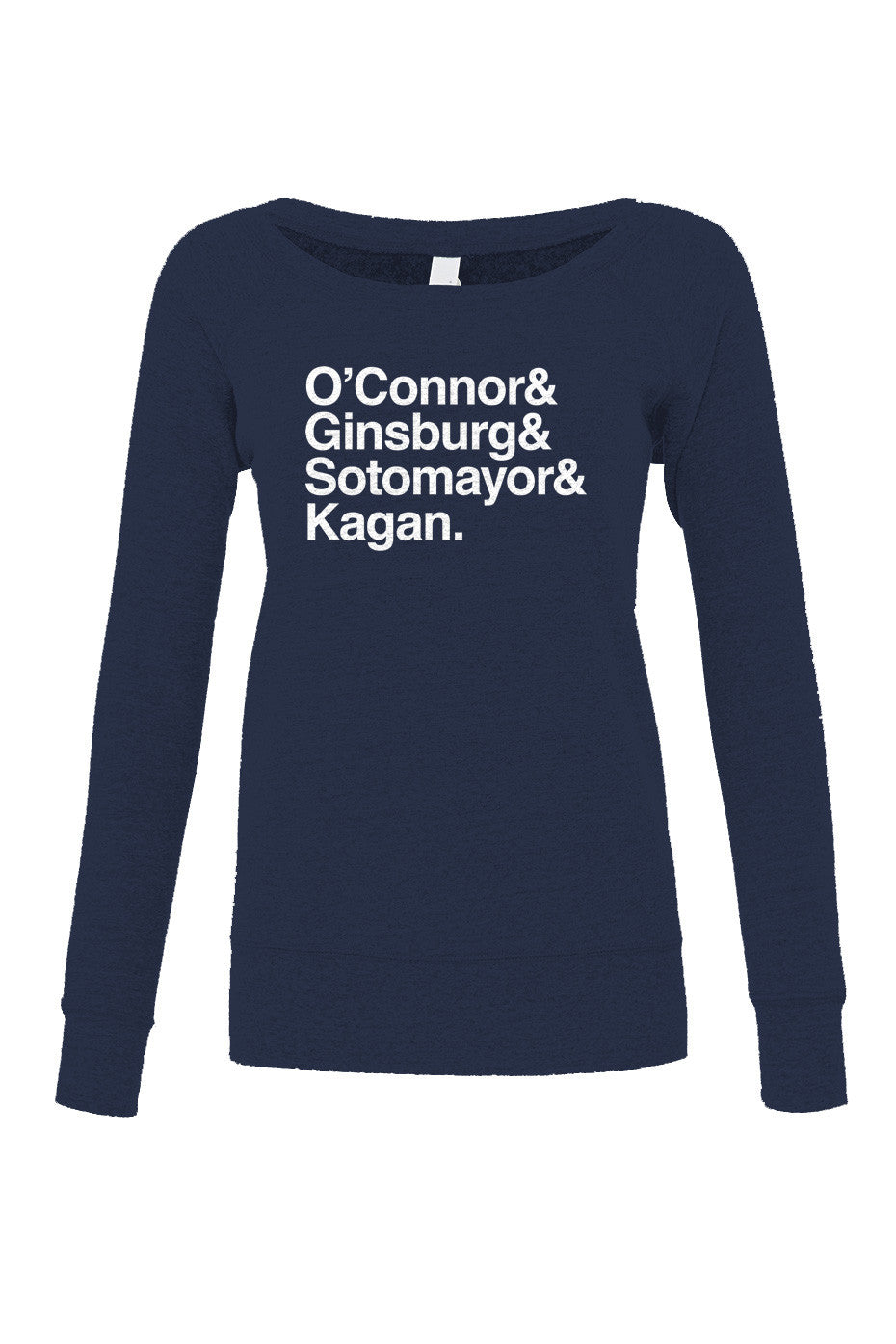 Women's O'Connor Ginsburg Sotomayor Kagan Scoop Neck Fleece