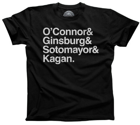 Men's O'Connor Ginsburg Sotomayor Kagan T-Shirt