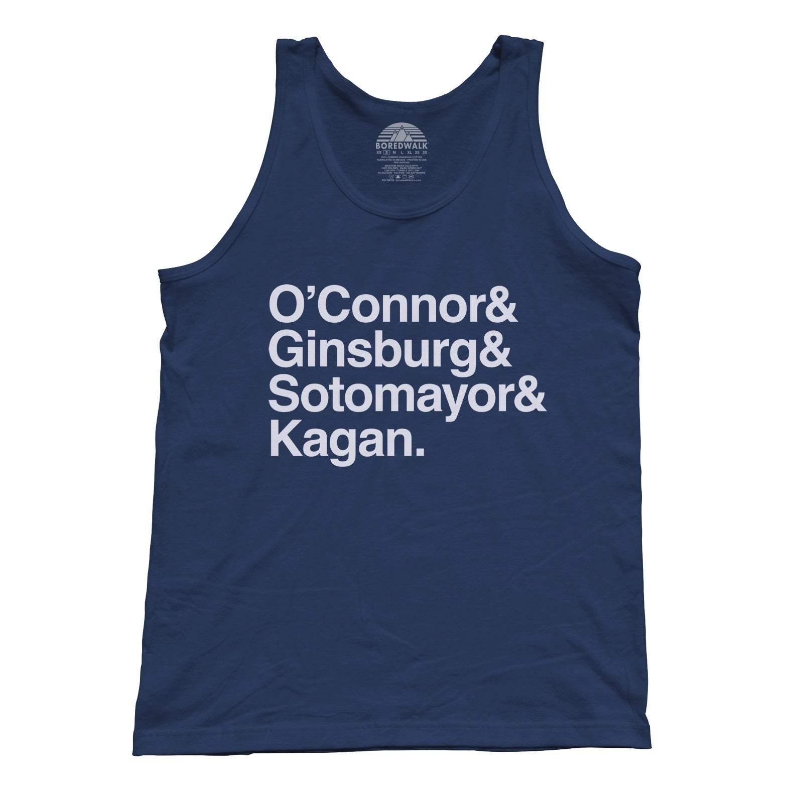 Unisex O'Connor Ginsburg Sotomayor Kagan Tank Top