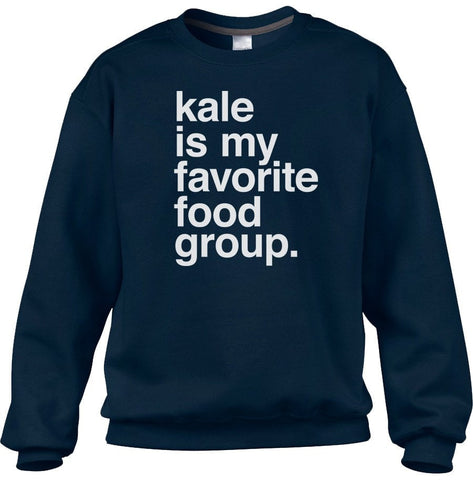 Unisex Kale is My Favorite Food Group Sweatshirt