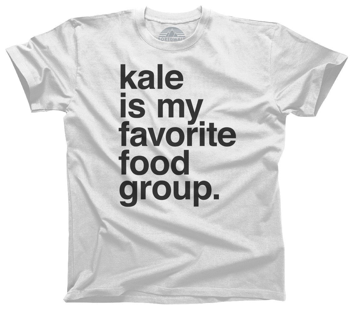 Men's Kale is My Favorite Food Group T-Shirt