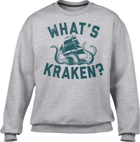 Unisex What's Kraken Sea Monster Sweatshirt