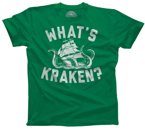 Boredwalk What's Kraken Sea Monster Shirt