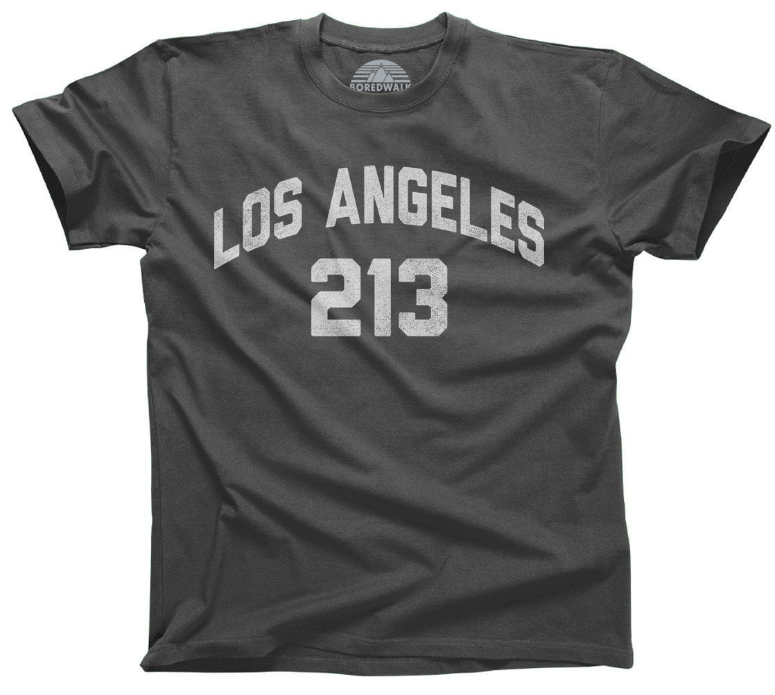 Men's Los Angeles 213 Area Code T-Shirt