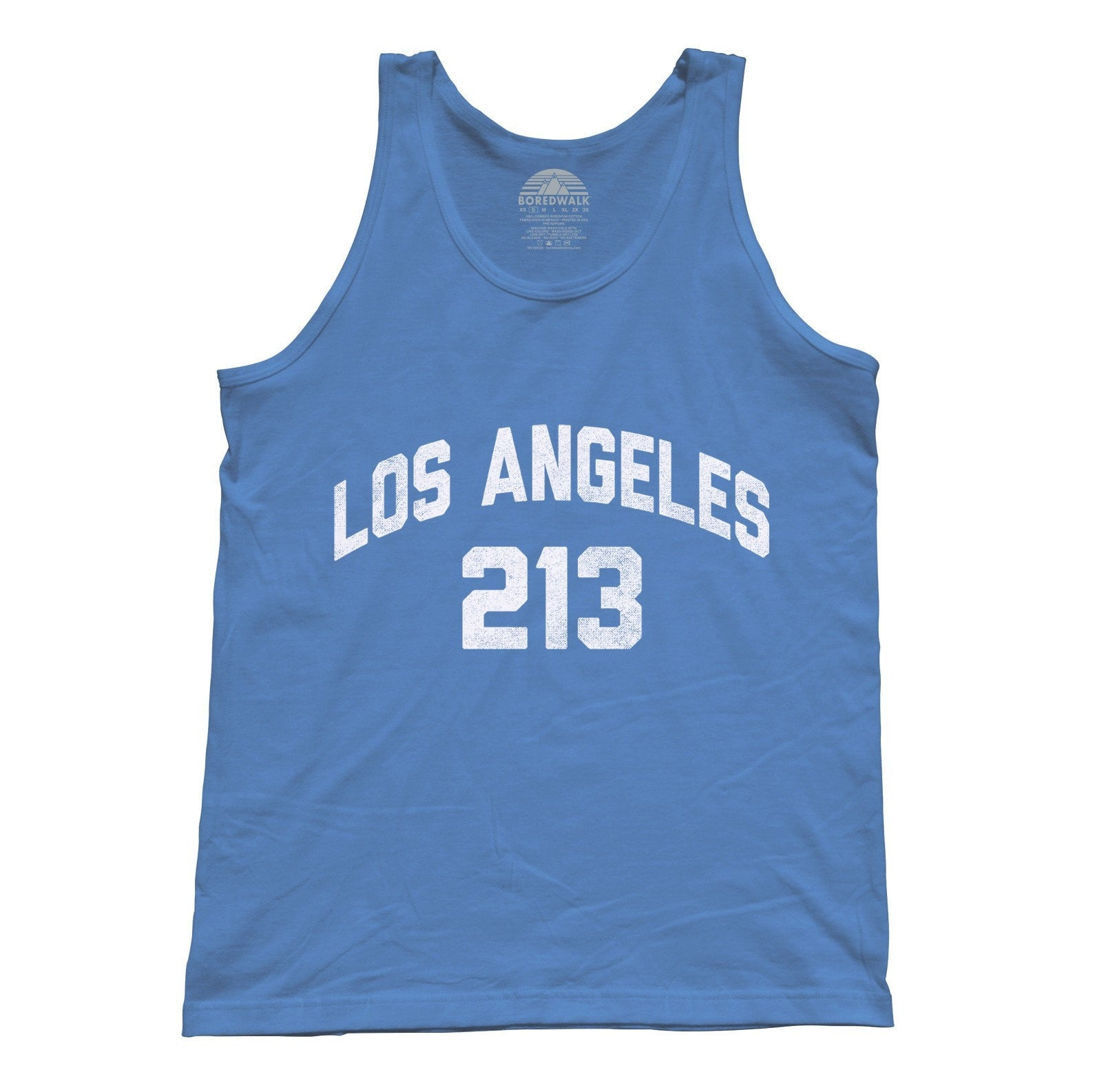 Unisex Los Angeles 213 Area Code Tank Top