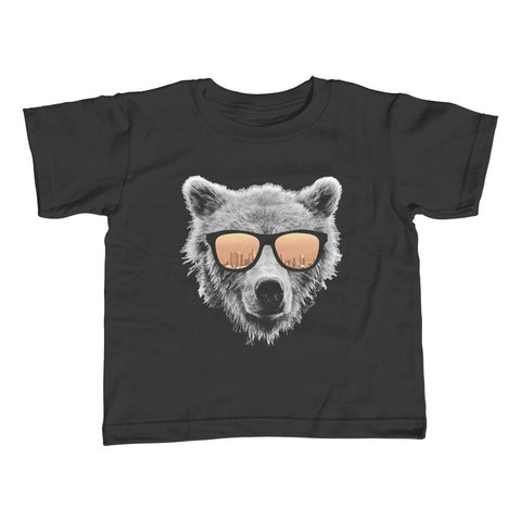 Boy's Los Angeles Bear T-Shirt Bear With Sunglasses