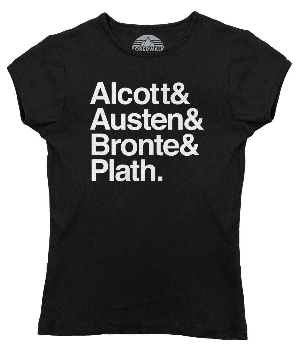 Women's Ladies Of Literature T-Shirt