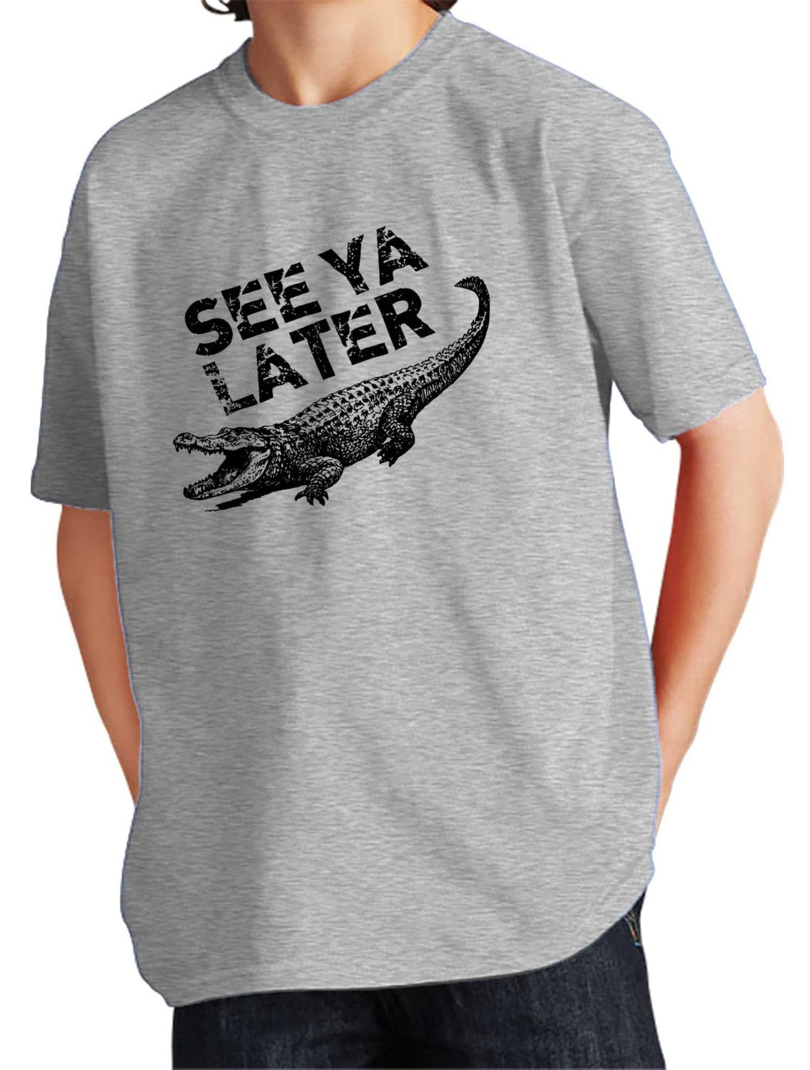 Girl's See Ya Later Alligator T-Shirt - Unisex Fit
