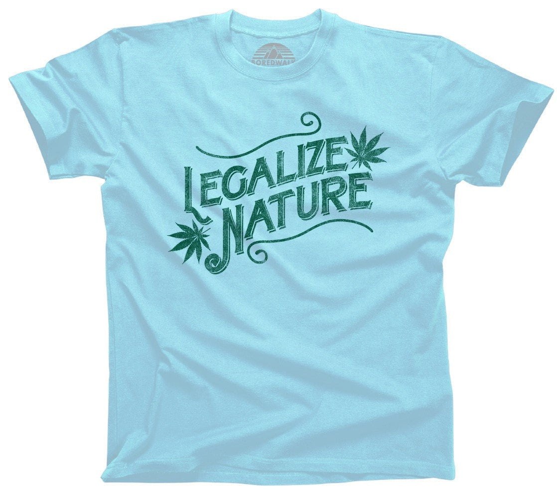 Men's Legalize Nature T-Shirt