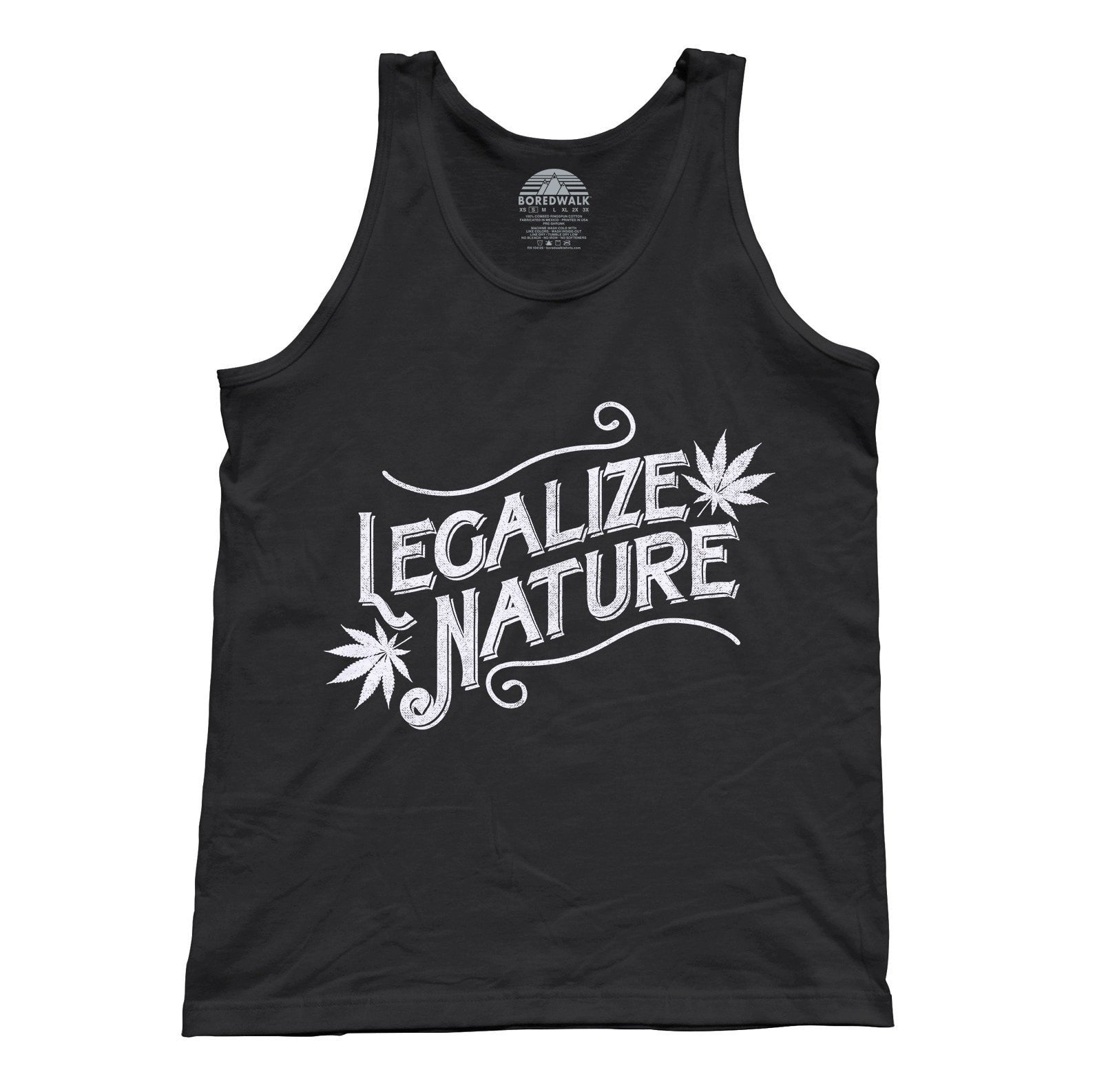 Unisex Legalize Nature Tank Top
