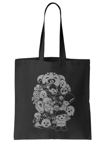 Classic Movie Monsters Tote Bag - By Ex-Boyfriend
