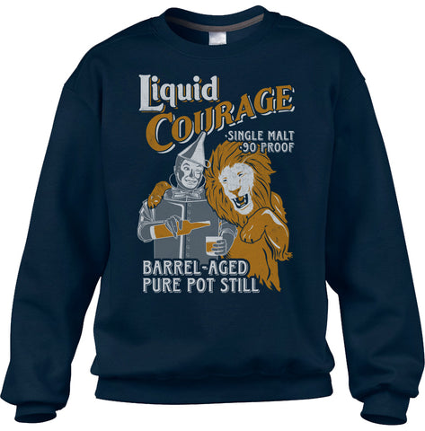 Unisex Liquid Courage Sweatshirt - By Ex-Boyfriend