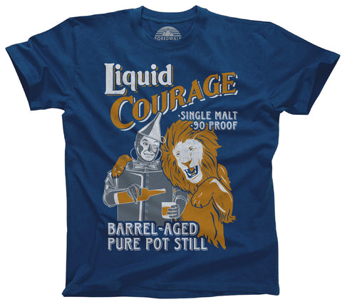 Men's Liquid Courage T-Shirt - By Ex-Boyfriend