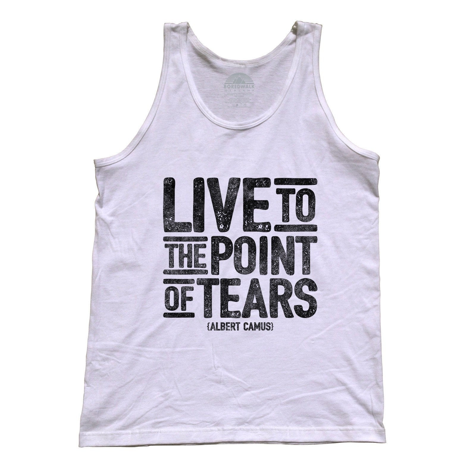 Unisex Live to the Point of Tears Tank Top