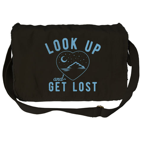 Look Up and Get Lost Messenger Bag