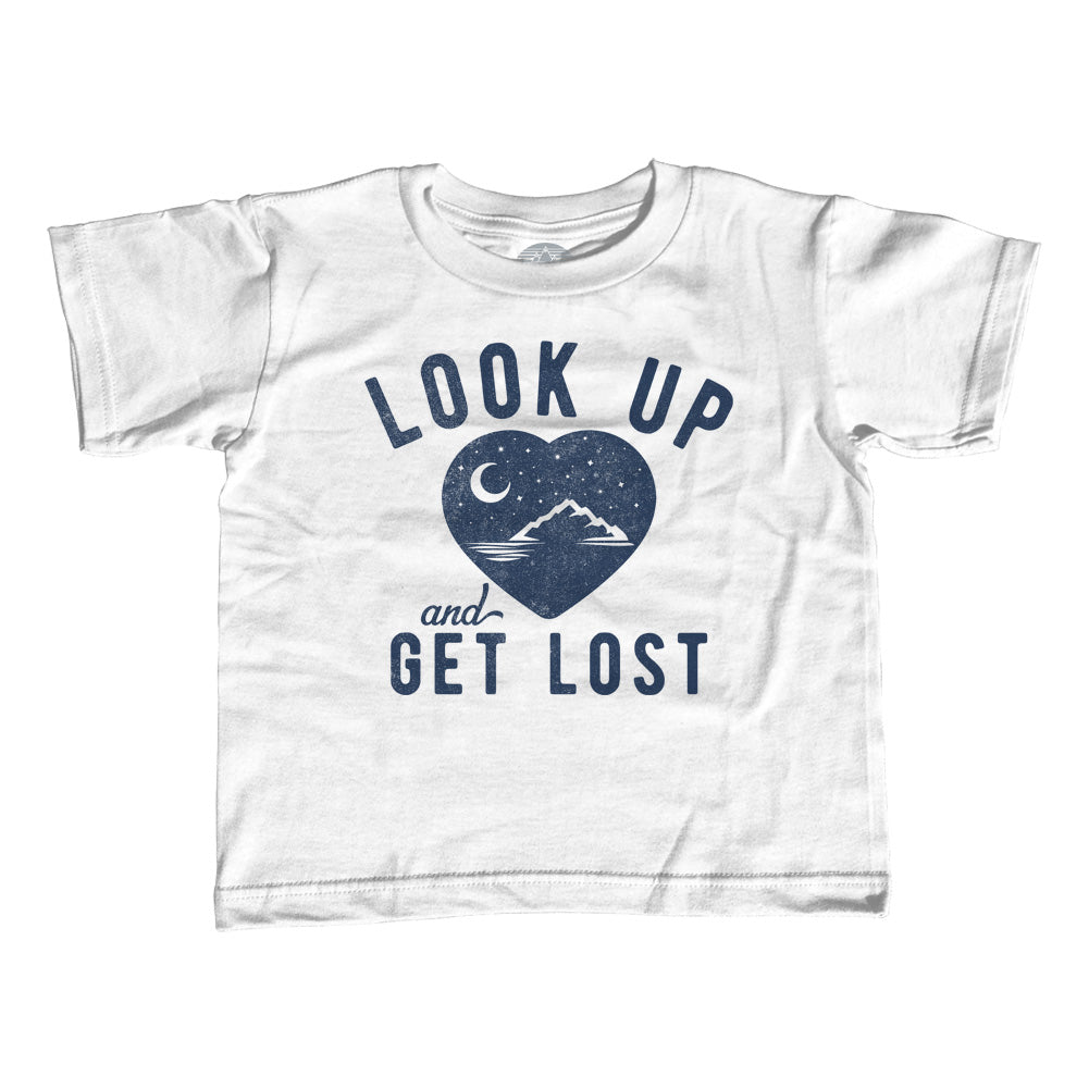 Boy's Look Up and Get Lost T-Shirt - Astronomy Shirt