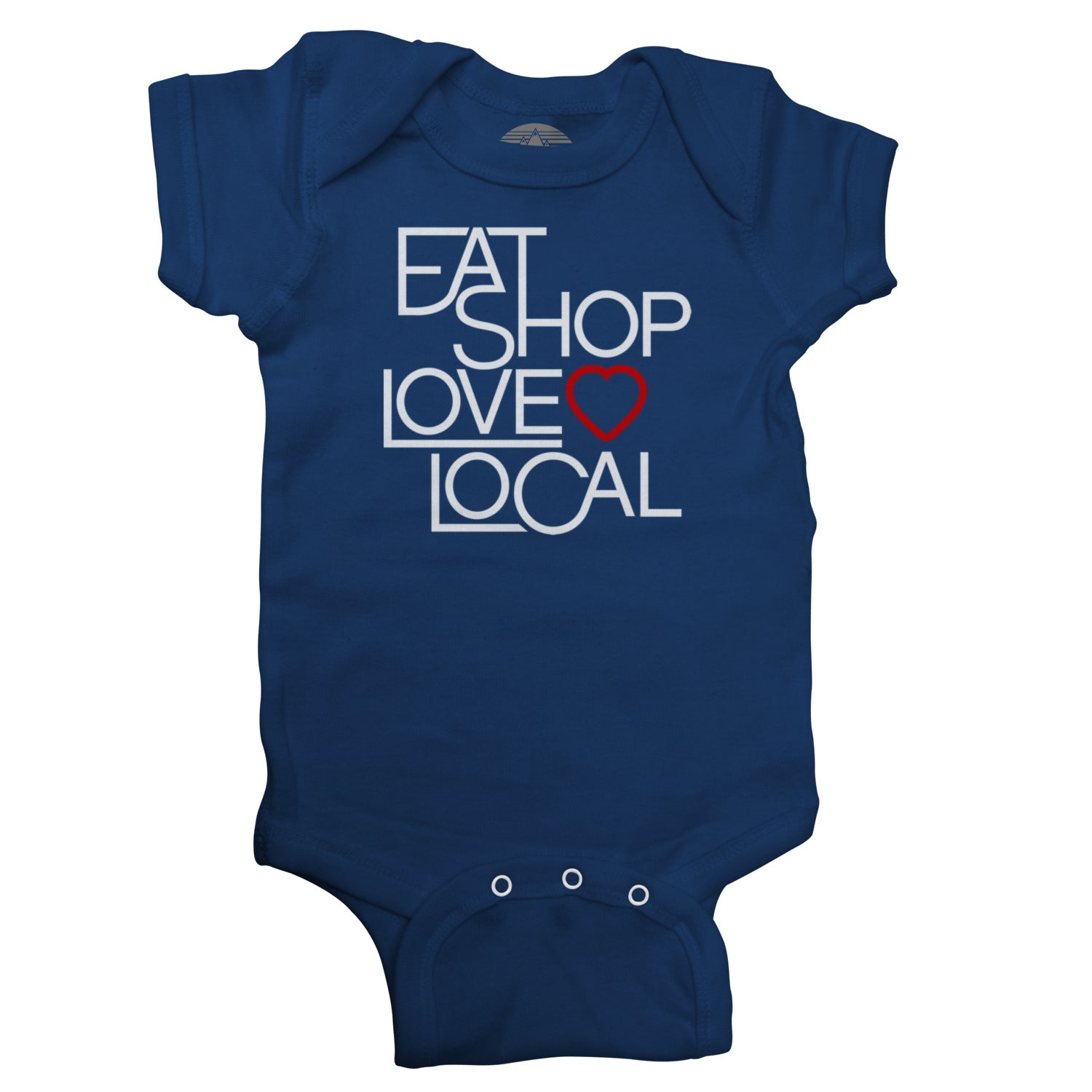 Love Shop Eat Local Infant Bodysuit - Unisex Fit