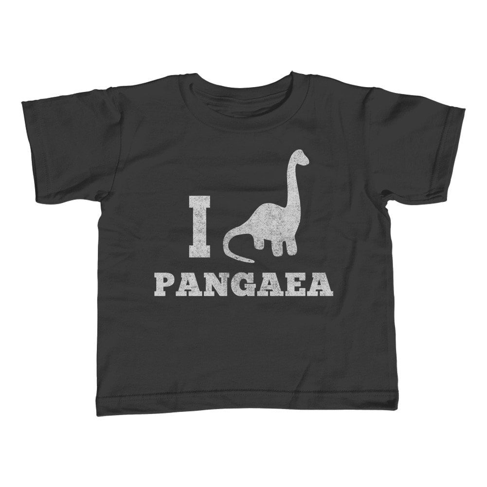 Girl's I Love Pangaea Dinosaur T-Shirt - Unisex Fit Paleontology