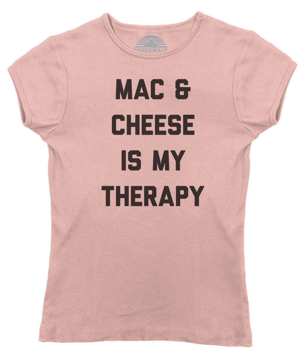 Women's Mac and Cheese Is My Therapy T-Shirt