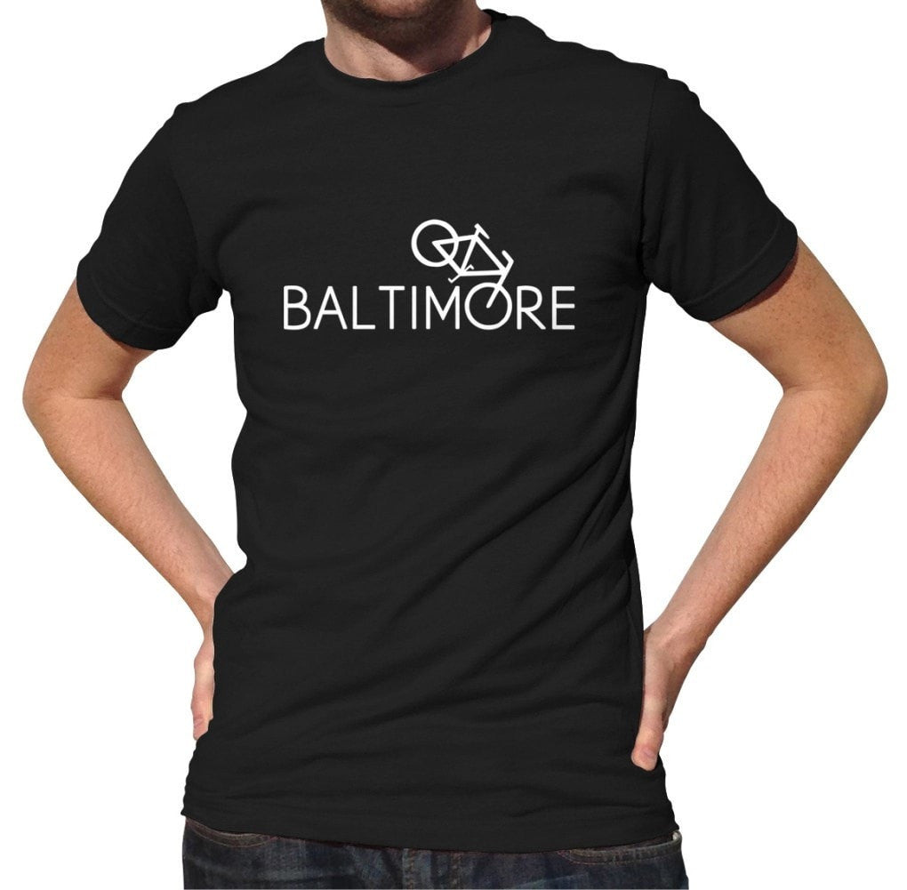 Men's Baltimore Bike T-Shirt