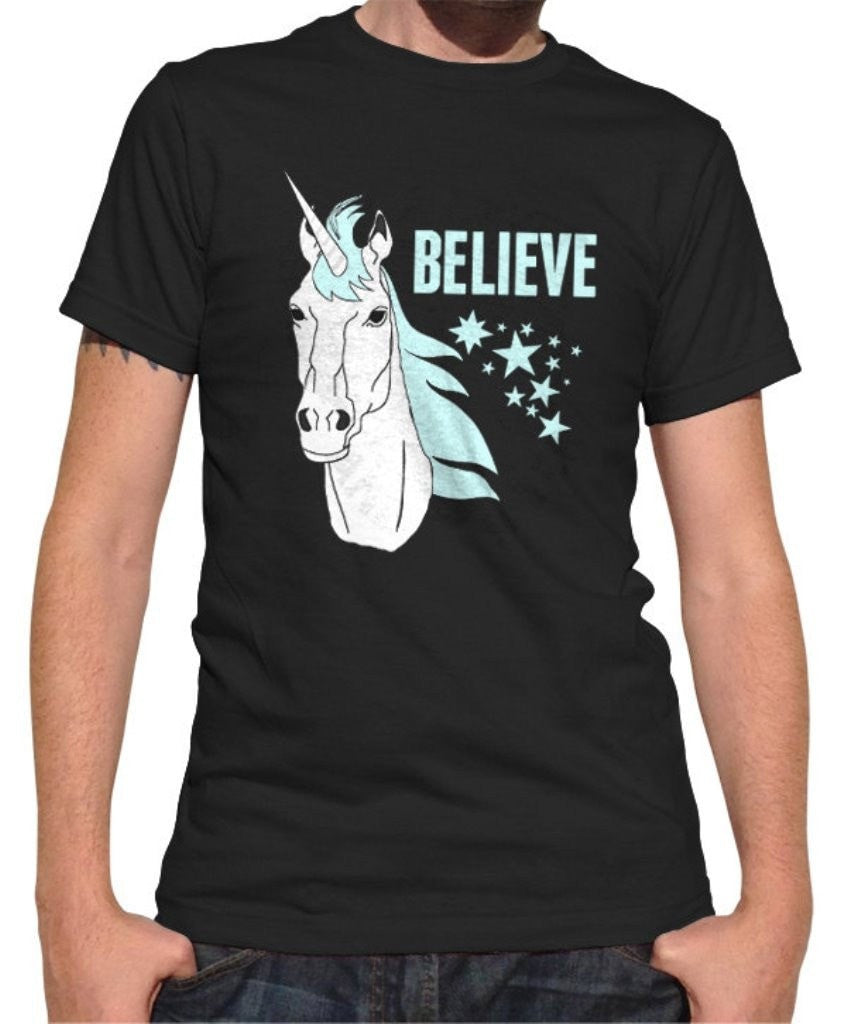 Men's Believe In Unicorns T-Shirt