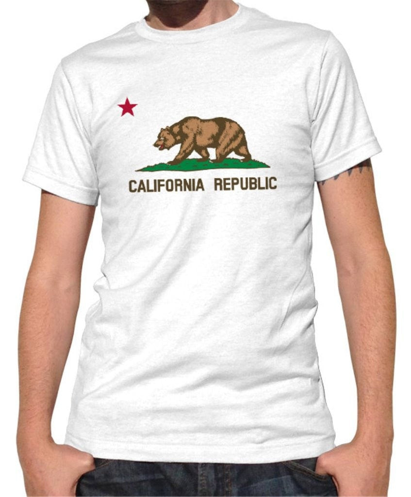 Men's California Flag T-Shirt