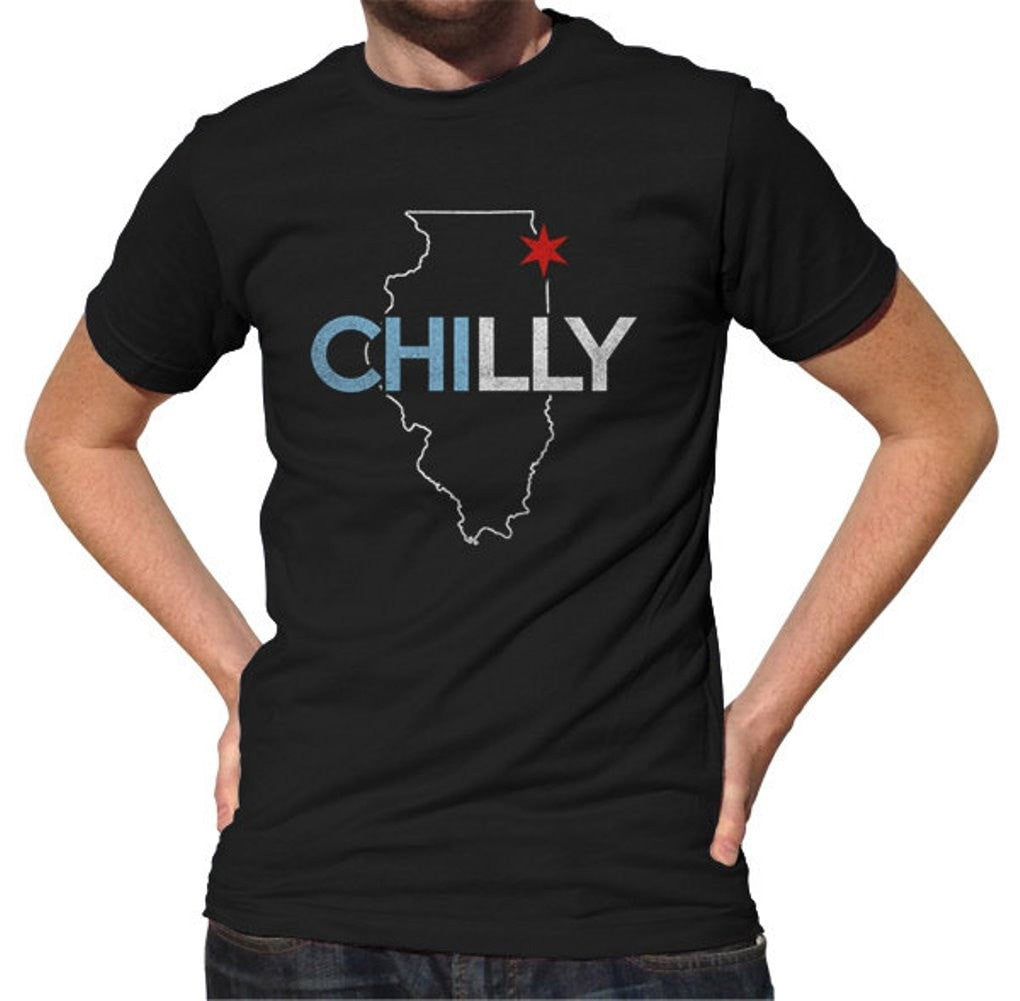 Men's Chilly Chicago T-Shirt