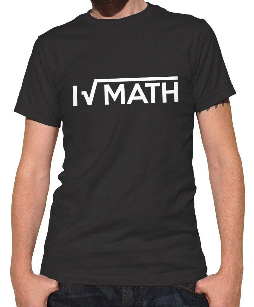 Men's I Love Math T-Shirt