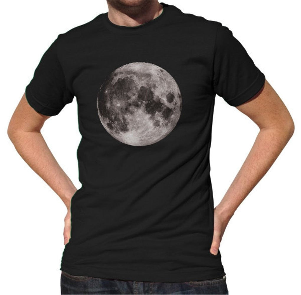 Men's Moon T-Shirt Astronomy