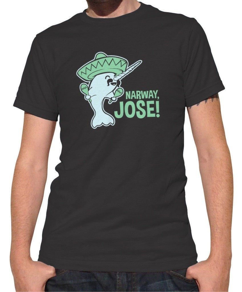 Men's Narway Jose T-Shirt Narwhal T-Shirt