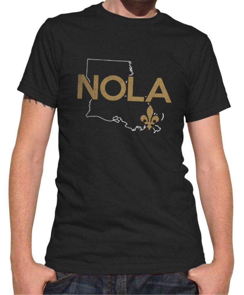 Men's Nola T-Shirt New Orleans T-Shirt