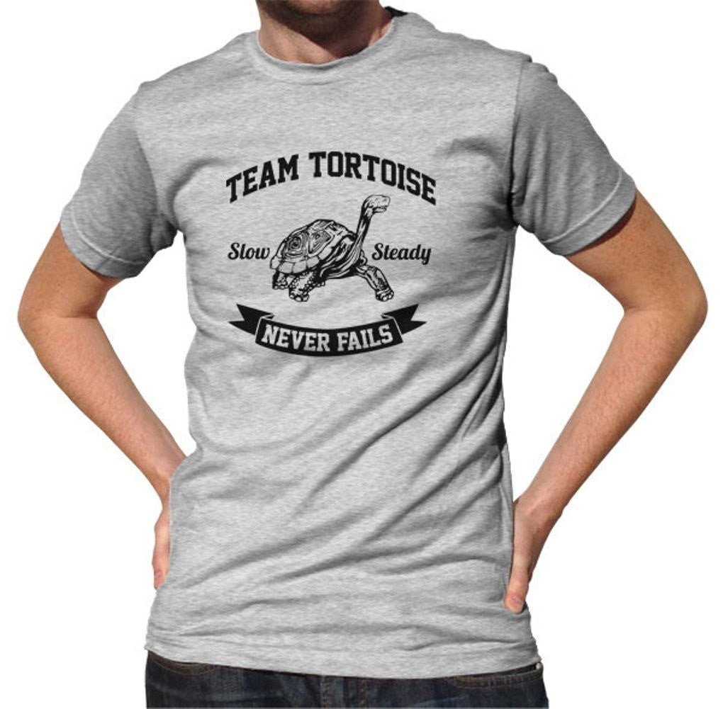 Men's Slow And Steady Tortoise T-Shirt