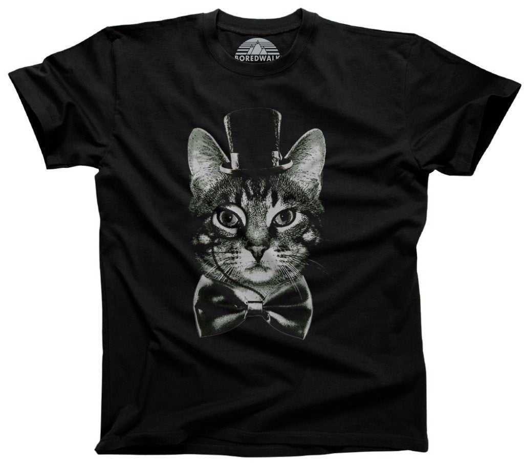 Men's Steampunk Cat T-Shirt