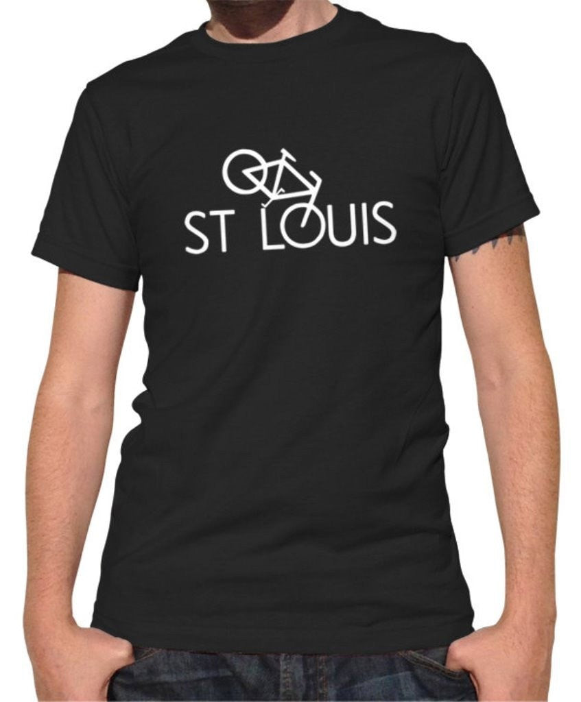 Men's St Louis Bike T-Shirt