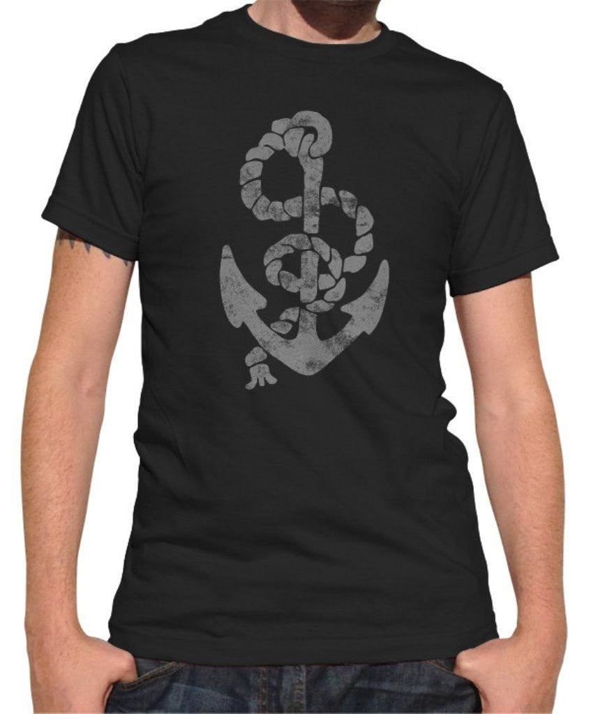 Men's Vintage Anchor T-Shirt