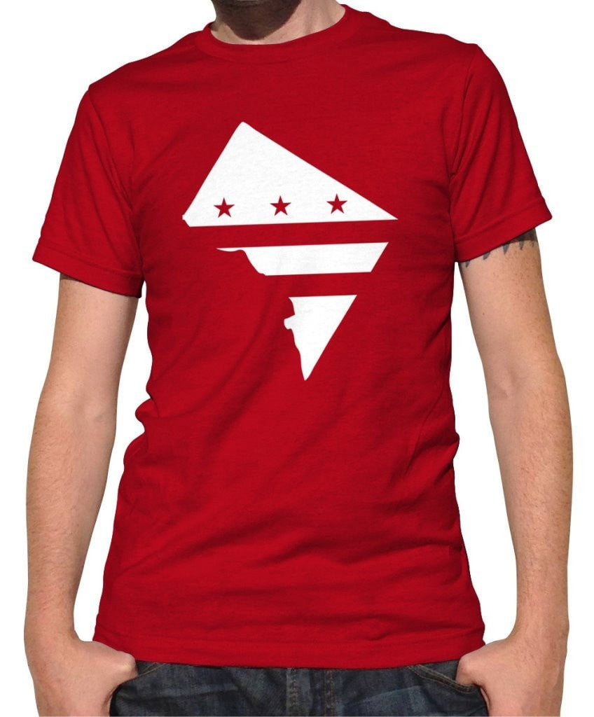 Men's Washington DC Flag T-Shirt