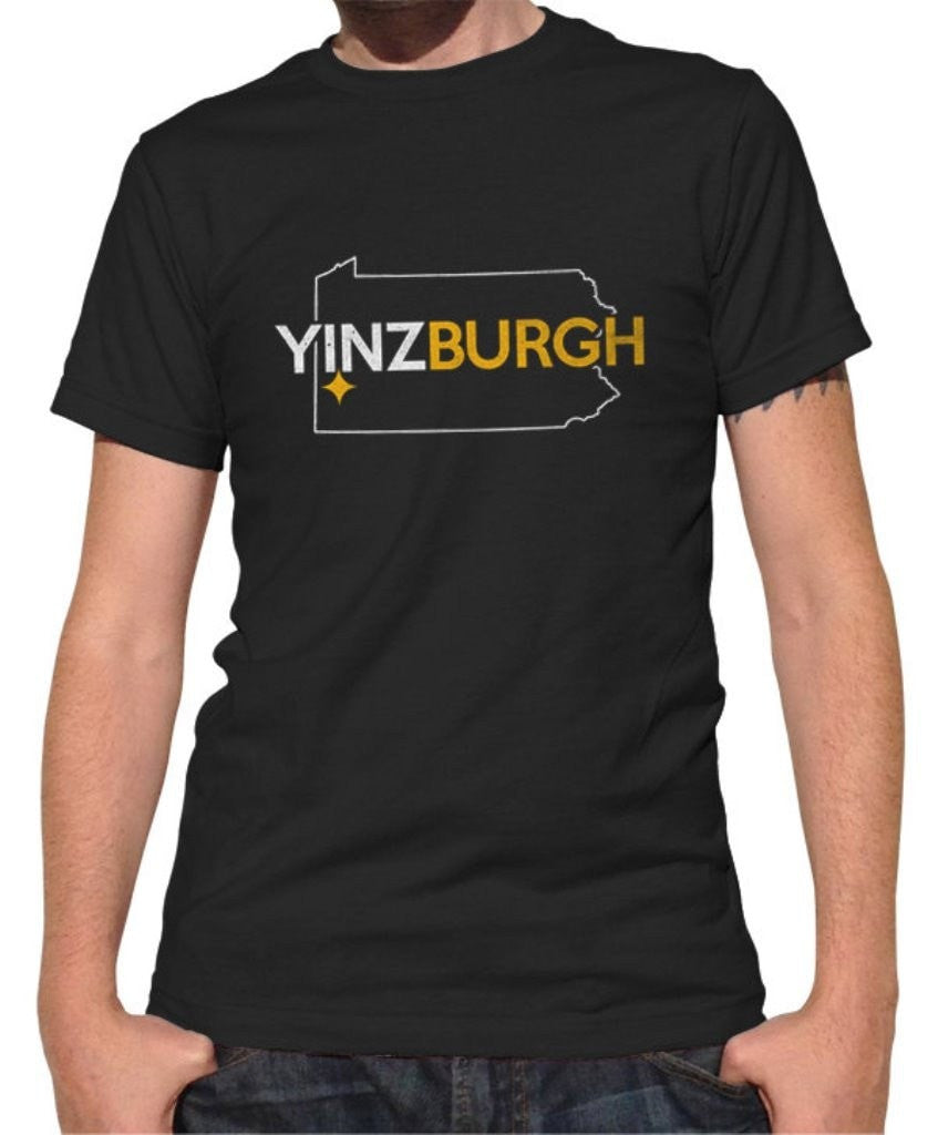 Men's Yinzburgh T-Shirt Pittsburgh T-Shirt