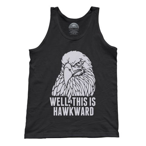 Unisex Well This Is Hawkward Tank Top