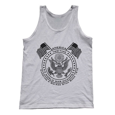 Unisex American Two Time World War Tank Top