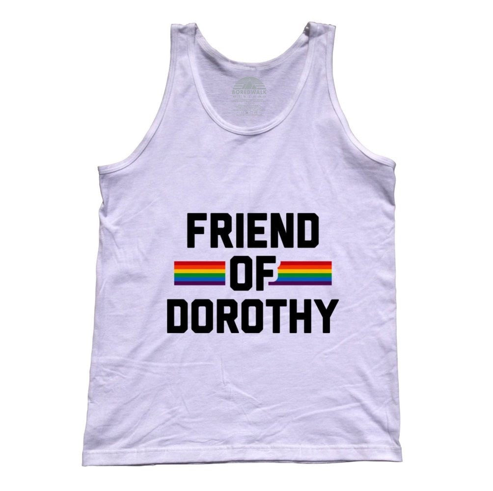 Unisex Friend Of Dorothy Gay Pride Tank Top